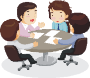 human resources roundtable, business management roundtable, presentation skills roundtable