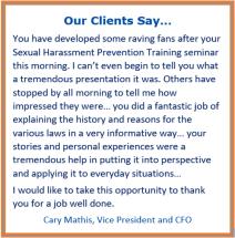 harassment prevention training san diego, online harassment prevention training
