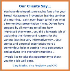 harassment prevention training san diego, online harassment prevention training