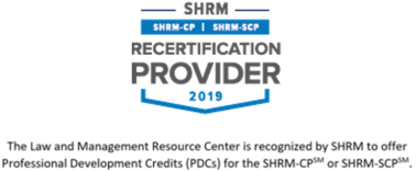 SHRM prefered provider